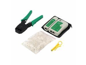 New 4in1 RJ45 RJ11 CAT5 NETWORK TOOL KIT CABLE TESTER CRIMPER LAN WIRE STRIPPER