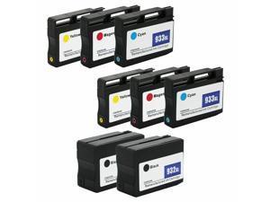 8PK 932/933XL 932 XL Ink Cartridge Set for  Officejet 7612 7610 6600 6700 6100