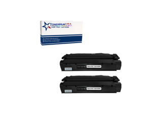 TONERHUBUSA Compatible Toner Cartridge Replacement for HP C7115A (2-Pack/Black)