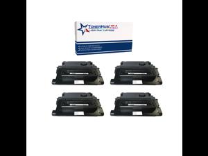 TONERHUBUSA Compatible Toner Cartridge Replacement for HP CC364A (4-Pack/Black)