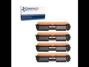 TONERHUBUSA Compatible Toner Cartridge Replacement for HP CF230X (4-Pack/Black)