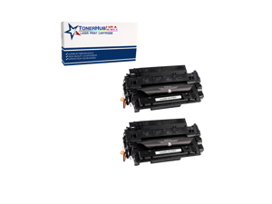 TONERHUBUSA Compatible Toner Cartridge Replacement for HP CF287A (2-Pack/Black)