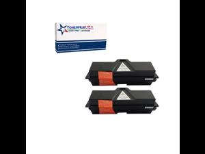 TONERHUBUSA Compatible Toner Cartridge Replacement for Kyocera TK1142 (2-Pack/Black)