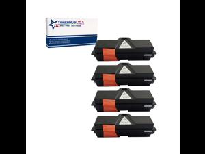 TONERHUBUSA Compatible Toner Cartridge Replacement for Kyocera TK1142 (4-Pack/Black)