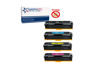TONERHUBUSA Compatible Toner Cartridge Replacement For HP CF414A (4-Pack/BCYM)