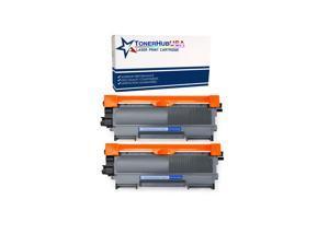 TONERHUBUSA Compatible TN450 TN420 Black Toner Cartridge High Yield Use for HL-2240d HL-2270dw HL-2280dw MFC-7360n MFC-7860dw IntelliFax 2840 2940 Printer 2 Pack