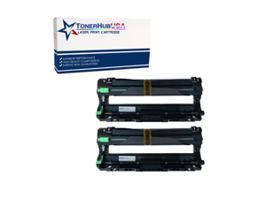 TONERHUBUSA Compatible Brother DR221 Drum Unit (2-Pack)