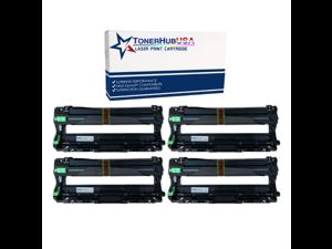TONERHUBUSA Compatible Brother DR221 Drum Unit (4-Pack)