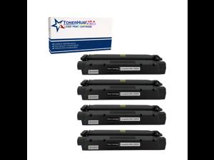 TONERHUBUSA Compatible Toner Cartridge Replacement for Canon X25  (4-Pack/Black)