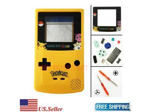 LIMITED EDITION Pokemon Pikachu Color Housing Shell For GBC  Game Boy