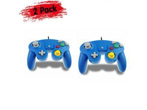 2 Pack Wired NGC Controller Gamepad for  GameCube GC  Wii U Console USA
