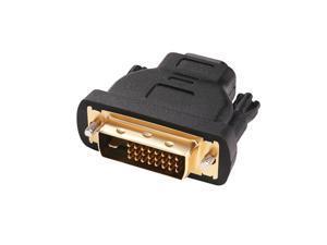 DVI to HDMI Adapter DVI-D Male to HDMI Female Converter 24+1 pin Bi-directional
