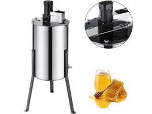 Electric Honey Extractor 2/4 Frame Stainless Steel Beekeeping Equipment Drum