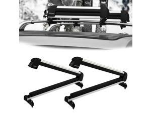 Universal Roof Mount Snowboard Car Rack fits Snowboards and Ski Roof Carrier