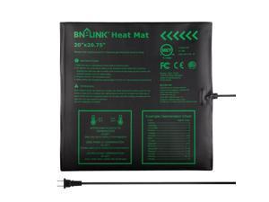 "Seedling Heat Mat Hydroponic Heng Pad Waterproof 20"" x 20.75''"
