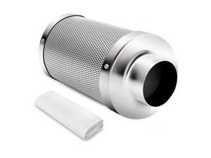 """4"""" inch Air Carbon Filter Odor Control w/ Virgin Charcoal for Inline Fan"""