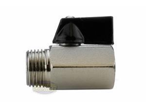 "Mini 1/2"" Male 1/2 Inch Female NPT Brass Ball Shut Off Valve Water Air Fluid WOG"