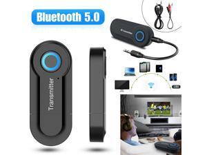 Bluetooth 5.0 Transmitter Audio BT500 Wireless Adapter 3.5mm Jack A2DP TV Stereo