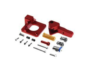 Cr10 Pro Aluminum Upgrade Dual Gear Extruder Kit for Cr10S Pro Reprap Prusa I3 1.75Mm Drive Feed Double Pulley Extruder