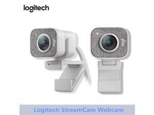 Original Logitech StreamCam Webcam Full HD 1080P 60fps Streaming Web Camera Buillt In Microphone Computer Desktop Home
