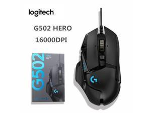 Original Logitech G502 Hero Wire Gaming Mouse 16000DPI High Performance E-sports Gaming Mouse LIGHTSPEED