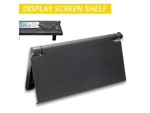 Stand Storage Rack Organizer for LCD TV Computer Monitor Durable TV Screen Caddy Screen Top Shelf Storage Rack Display Holding