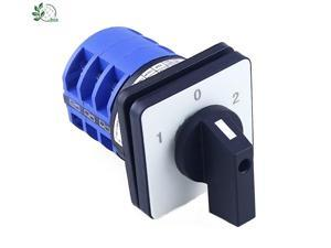 1pcs Rotary switch 3 position 660V 32A 3 phases electrical changeover cam switch YMW26-32/3
