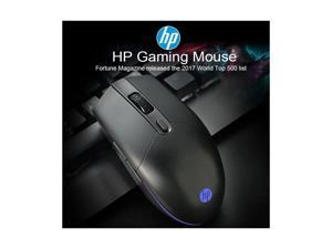 HP M260 gaming mouse notebook desktop all-in-one office game wired mouse black-HP RGB Gaming Mouse M260 800-6400 DPI Adjustable Original Portable 1.5m Wired USB Mice for Laptop/Computer Dropshipping