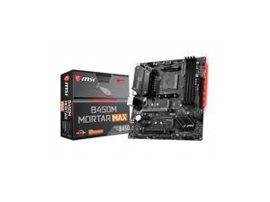 B450M Mortar Max Socket AM4 AMD B450 DDR4 Micro ATX Motherboard (B450M MORTAR MAX)