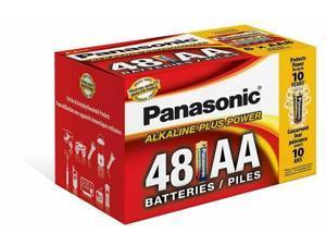 LR6PA/48 Panasonic Alkaline AA 48 Pack Bulk