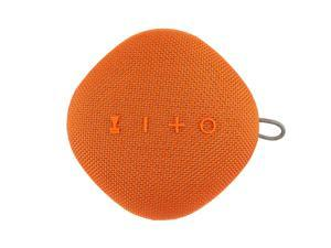 Coby True Wireless Bluetooth Speaker w/Mic | Loud HD Sound | IPX5 Waterproof for Camping, Shower, Travel, Beach Listening |12 Hours of Music | Compact, Portable, and Rechargeable (Orange)