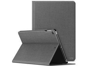 Infiland iPad 9.7 2018/2017, iPad Air 2, iPad Air Case, Multiple Angle Stand Cover Compatible with iPad 5th/6th Generation 9.7 inch (Auto Wake/Sleep), Gray