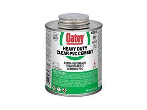 Oatey 30876 Heavy Duty Clear PVC Cement, 16 oz