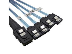 20IN SCSI SAS to SATA Cable M//M Compatible with ROCSTOR Y10C251-BL1