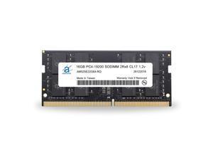 Adamanta 16GB (1x16GB) Laptop Memory/RAM Upgrade Compatible for Dell Alienware, Inspiron, Latitude, Optiplex, Precision, Vostro, XPS DDR4 2400Mhz PC4-19200 SODIMM 2Rx8 CL17 1.2v DRAM P/N SNP821PJC/16G