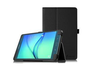 Fintie Folio Case for Samsung Galaxy Tab A 8.0 (Previous Model 2015), Slim Fit Premium Vegan Leather Cover Compatible Galaxy Tab A 8.0 SM-T350/P350 2015 (NOT Fit 2017/2018 Version), Black