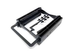 """Micro Connectors Dual 2.5"""" Screwless HDD/SSD Mounting Bracket Kit (L02-252A)"""