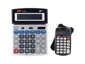 Staples 2 pack calculators! SPL-290X 12 Digit Calculator-desktop and SPL-150X-pocket