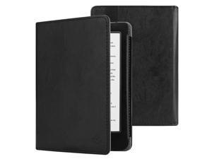 "Fintie Case for Kobo Clara HD - Slim Fit Premium Vegan Leather Folio Cover with Auto Sleep/Wake for Kobo Clara HD 6"" eReader, Classic Black"