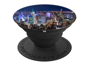 New York City Manhattan NYC Skyline PopSockets Grip and Stand for Phones and Tablets