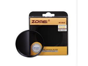 ZOMEI Brand 55mm Optical Resin Graduated Neutral Density Gray Camera Lens Filter