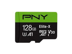 PNY 128GB Elite-X Class 10 U3 V30 microSDXC Flash Memory Card
