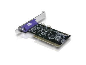 Vantec 2+1 Serial and Parallel PCI Host Card (Black)
