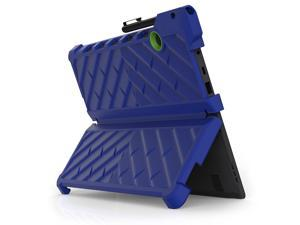 Gumdrop DropTech Case Designed for Lenovo Miix 720 2-in-1 Tablet for Commercial, Business and Office Essentials - Royal Blue/ Lime, Rugged, Shock Absorbing, Extreme Drop Protection