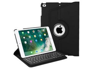 """Fintie Keyboard Case for iPad 9.7 inch 2018 2017 / iPad Air 2 / iPad Air - 360 Degree Rotating Stand Protective Cover with Built-in Wireless Bluetooth Keyboard for iPad 9.7"""" (6th Gen / 5th Gen), Black"""