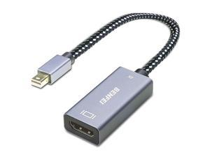 Mini DisplayPort to HDMI, BENFEI 4K Mini DP Display Port to HDMI (Thunderbolt Compatible) Compatible for MacBook Air, iMac, MacBook Pro, Surface Pro 3/4/5, ThinkPad P71 etc