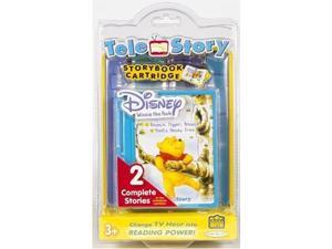 Jakks Pacific Toymax Winnie The Pooh Telestory Cartridge