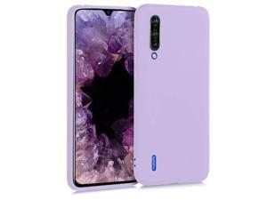 kwmobile TPU Silicone Case Compatible with Xiaomi Mi 9 Lite - Soft Flexible Protective Phone Cover - Lavender