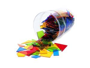 Learning Resources Power Polygons, Early Geometry Skills, Polygon Shapes, Fraction Overlay, 450 Pieces, Ages 5+