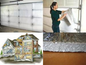 NASATECH Single Garage Door Kit Pre-Cut Inserts Reflective Foam 10 Panel Units